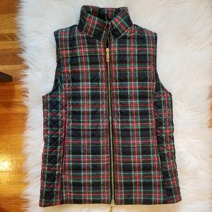 Vineyard Vines Classic Tartan Puffer Vest